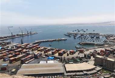 Puerto de Arica, Chile