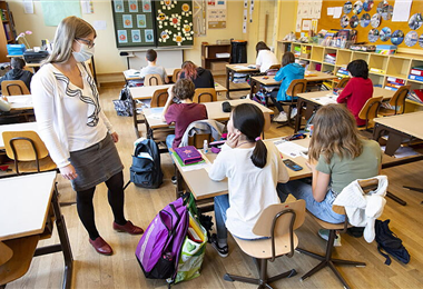 El calendario escolar comienza en el mes de agosto en Estados Unidos. Foto. Internet