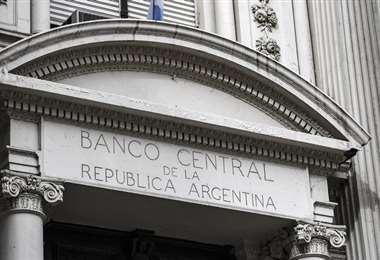 Frontis del Banco Centra argentino. Foto Internet