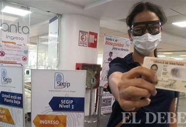"""Daniela obtuvo su cédula de identidad, pero dice que """"tuvo que sufrirla"""". Fotos: Álvaro Rosales M."""