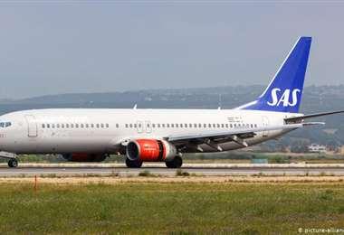 La aeronave llegó pasada la medicanoche a Oslo. Foto Internet