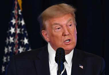 Donald Trump, presidente de Estados Unidos. Foto. AFP