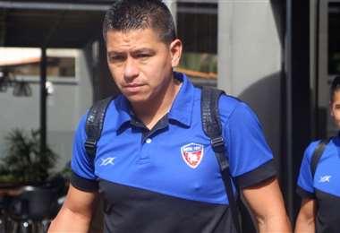 Carlos Saucedo, delantero de Royal Pari. Foto: Club Royal Pari