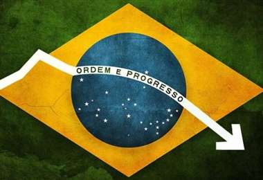 Brasil entra en recesión. Foto Internet