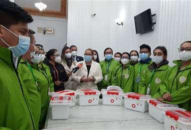 La brigada médica cruceña estará en Oruro, La Paz y El Alto