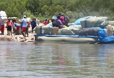 El contrabando es uno de los principales problemas que afectan al país (Foto: EL DEBER)