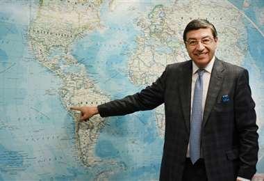 El secretario general de la CAN, Jorge Hernando Pedraza.