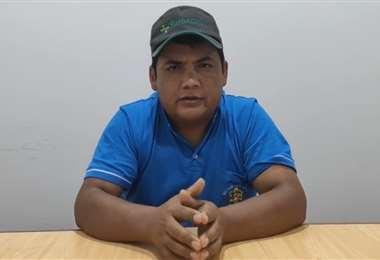 Flavio López, alcalde de Samaipata