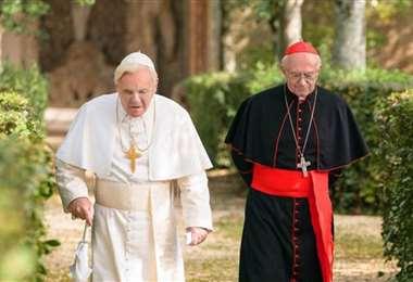 La película Dos papas, nominadas a tres premios Óscar, está disponible