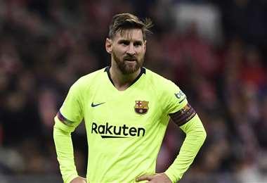 Lionel Messi todavía no ha definido su futuro. Foto: AFP