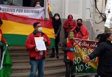 Plataformas ciudadanas piden la destitución del Fiscal General