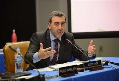 Edison Lanza, relator de la CIDH. Foto Internet