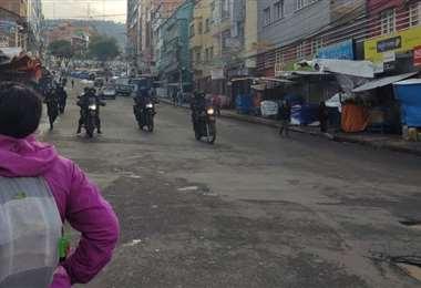 Volverá el control policial a las calles de La Paz