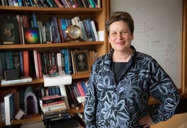 La neurobióloga Katherine Duloc. Foto Internet