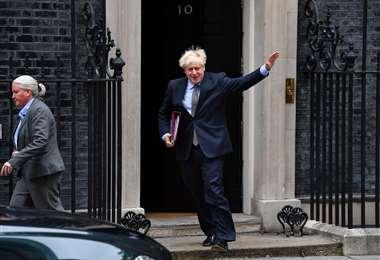 El gobierno de Boris Johnson en una encrucijada. Foto AFP