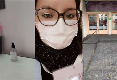 Liliana es enfermera particular desde 2014