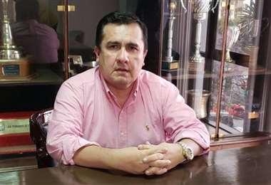 Blanco, presidente de la FBF reconocido por un amparo constitucional. Foto: Internet