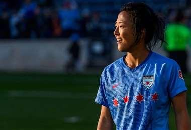 Yuki Nagasato tiene contrato con el Chicago Red Stars. Foto: Internet