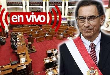 El Congreso decide el futuro del presidente peruano. Foto internet