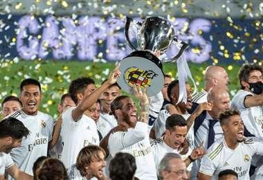 Real Madrid es el último campeón de la liga española de fútbol. Foto: internet