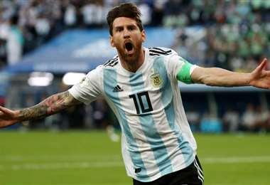Messi podrá estar ante Ecuador el 8 de octubre. Foto: internet