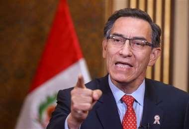 El mandatario peruano. Foto Internet