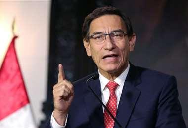 El presidente Vizcarra está en uno de los momentos más tensos /AFP