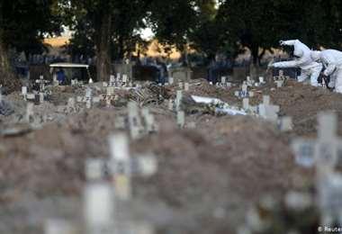 El viernes se registraron en el mundo 6.012 nuevas muertes