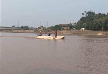 El adolescente desapareció el pasado fin de semana en el Río Beni /Foto: ABI