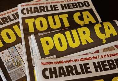 Charlie Hebdo redifundió las caricaturas del profeta Mahoma