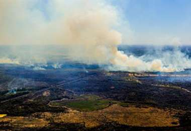 Los incendios en el Pantanal han aumentado más de 230% con relación a 2019