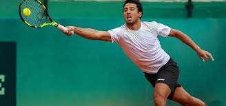 Hugo Dellien entrena para participar en Roland Garros. Foto: internet