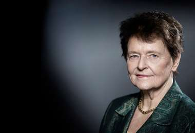 Gro Harlem Brundtland. Foto Internet