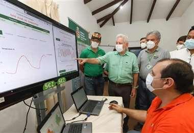 En días pasados entregaron estaciones agrometeorológicas para tomar previsiones
