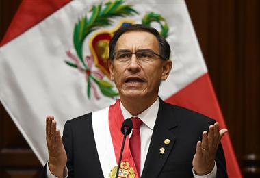 Martín Vizcarra, presidente de Perú. Foto. Internet
