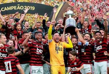 Flamengo es el último campeón de la Libertadores. Foto: internet