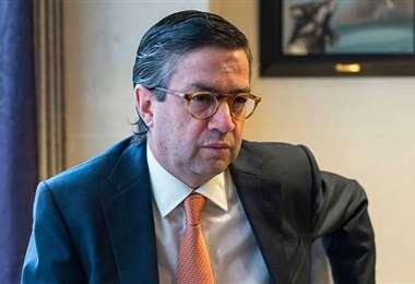 El presidente saliente del BID. Foto Internet
