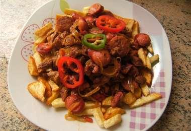 El pique macho es uno de los platos más representativos de Cochabamba