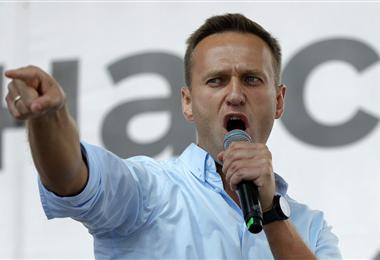 Alexéi Navalni, líder opositor del régimen de Vladimir Putin. Foto. Internet