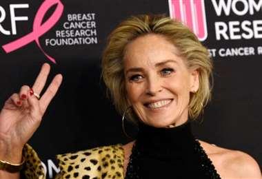 La acriz Sharon Stone afirma que la apariencia física sigue importando en Hollywood