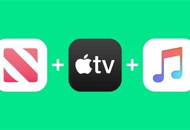 El paquete Apple One básico. Foto Internet
