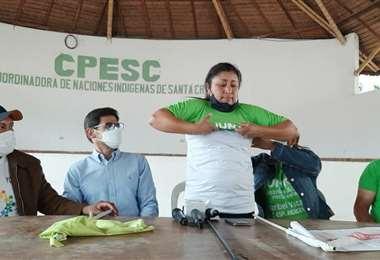 La ahora excandidata de Creemos dio su postura en Santa Cruz
