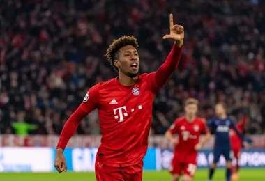 Fue el autor del tanto que le dio la copa al Bayern