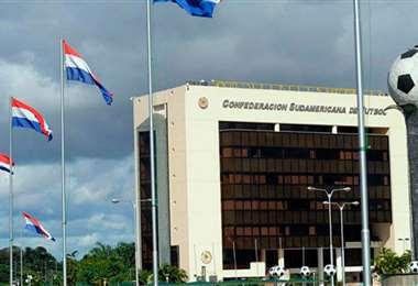 La casa del fútbol sudamericano en Paraguay. Foto: internet