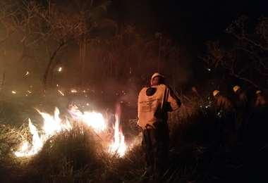 El Comité de Crisis coordina acciones para sofocar los incendios