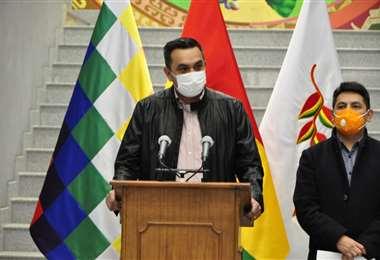 El ministro Núñez I Presidencia.