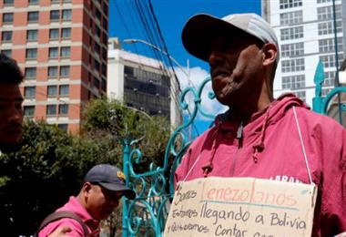 En Bolivia los venezolanos ya son parte del paisaje urbano
