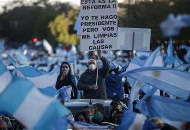 Las protestas contra el gobierno continúan. Foto Internet