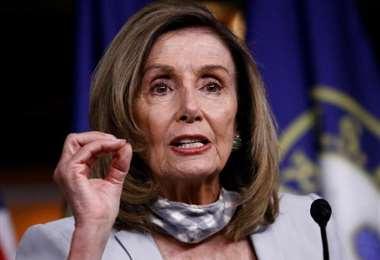 La líder demócrata. Foto Internet