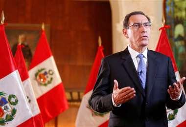 El cuestionado mandatario peruano. Foto Internet